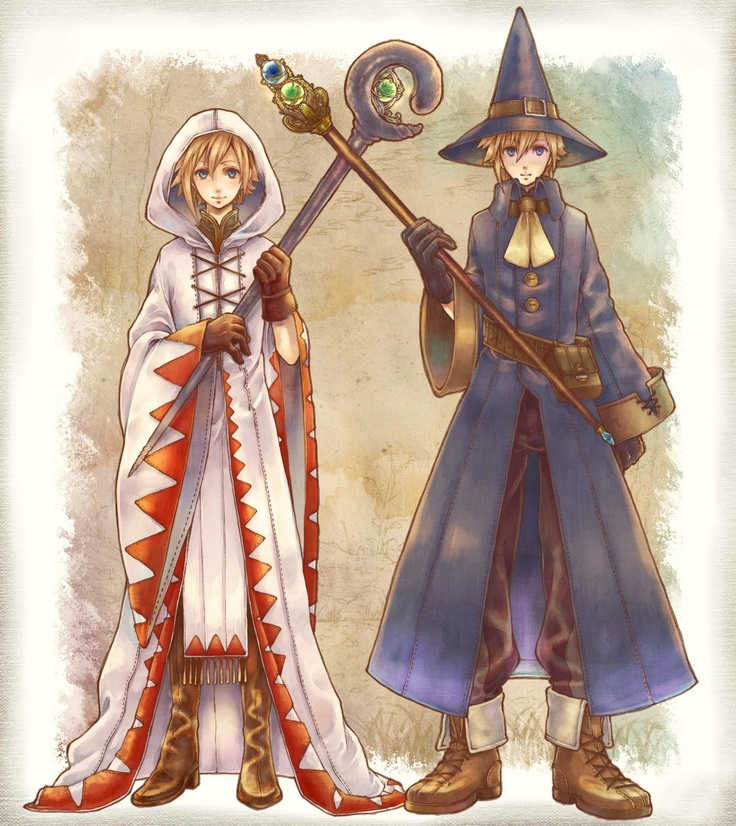 <3 the Original Mage Outfits!