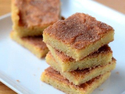 Baking Bites für Craftsy: Snickerdoodle Bars | Backen beißt