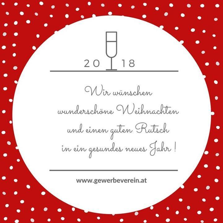 Wir wünschen wunderschöne Weihnachten und einen guten Rutsch in ein gesundes neues Jahr!  Das Team des  Österreichischen Gewerbevereins #ÖGV #Gewerbeverein