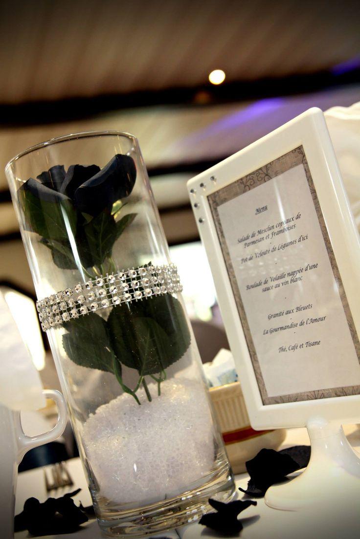 Magnifique centre de table pour mariage