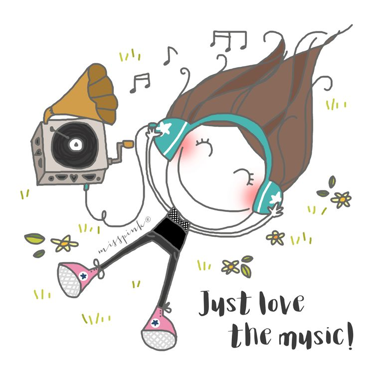 Just love music! By Misspink. Www.misspink.es