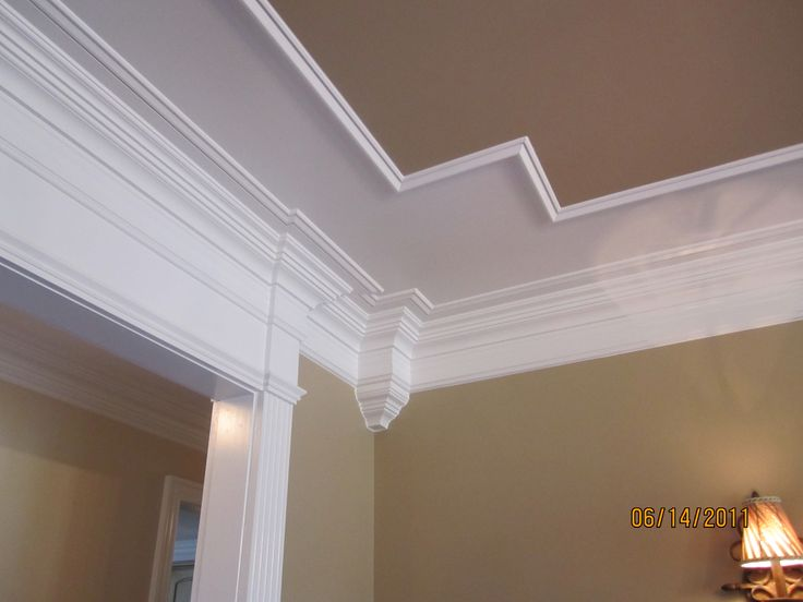 Design Tray Coffered Ceiling Into Header Over Cased