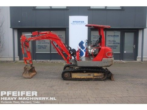 #Used #YANMAR #B25V #excavator available at #Pfeifer #Heavy #Machinery. Year of construction #2006. #Diesel. Hours 3301. PHM-Id 06636