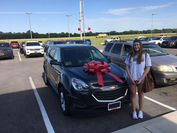Congratulations Mike and Tina  on your daughter Hailey's new 2016 Chevrolet Equinox! Good luck and have fun in college!