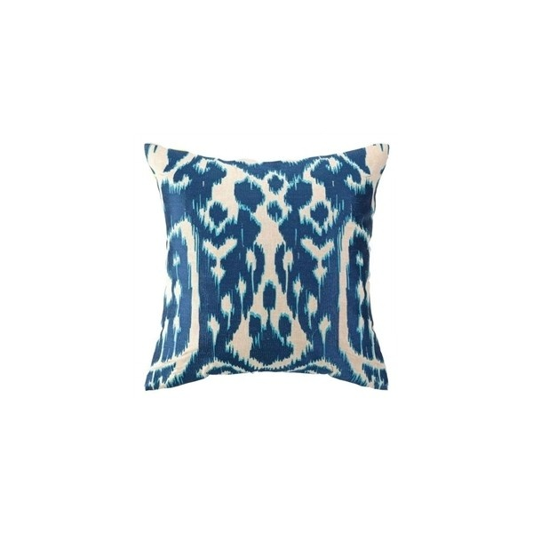 Embroidered Pillow - The Inglenook Decor ($200) via Polyvore