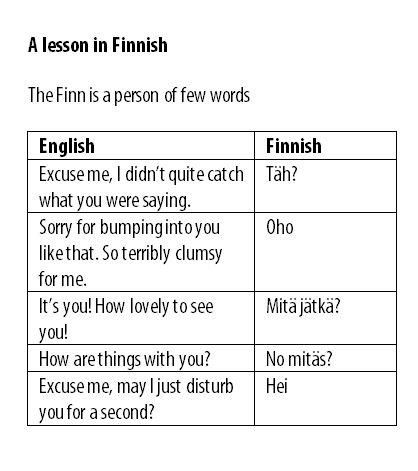 How to speak more like a Finn =)