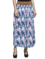 Printed rayon long skirt - Online Shopping for Skirts