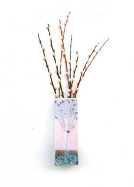 Mews Art Studio at Christmas Artists Open Houses 2014. Image: Kathy Laird: Ceramic Wall Planter