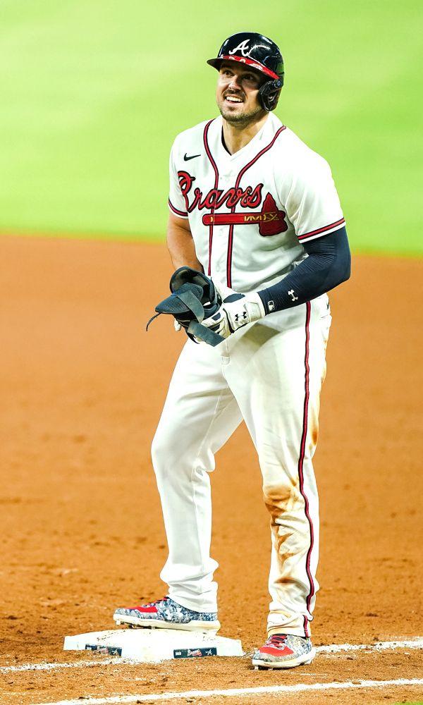 Adam Duvall Atlanta Braves Atlanta Braves Atlanta Braves Wallpaper Atlanta Braves Baseball