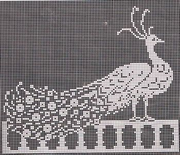 Dasmades version of Lords Prayer Filet Crochet Pattern 171