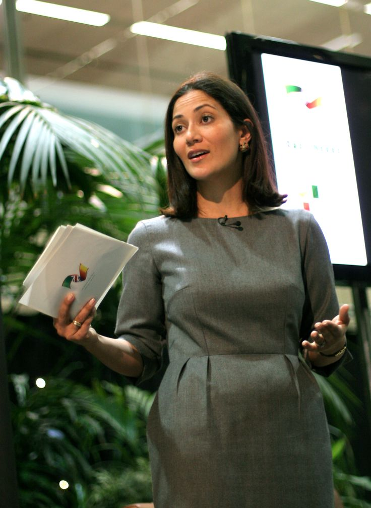 Mishal Husain at TFN/British Asian Trust's event, March 2012, at Coutts