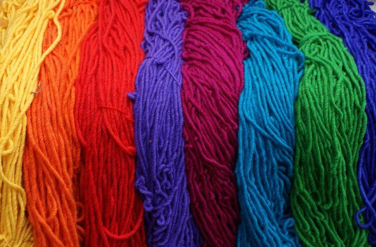 Rainbow Wools Store - Rug Yarn, $18.00 (http://www.rainbowwools.com/rug-yarn/)