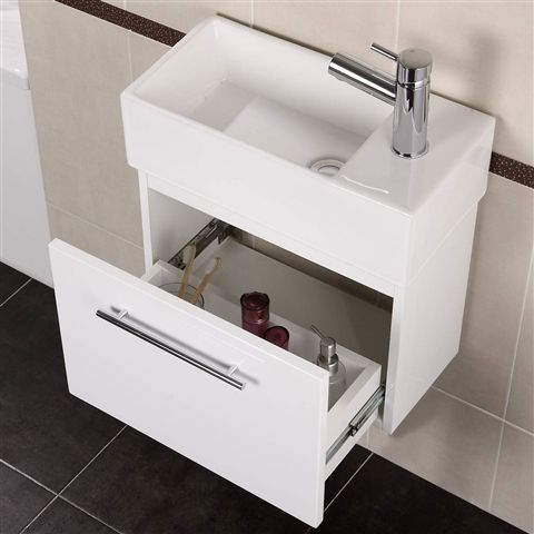 Coco Wall Mounted Vanity Unit 48x24cm