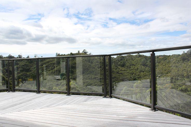 Framed Glass Balustrade by Outdoor Edge
