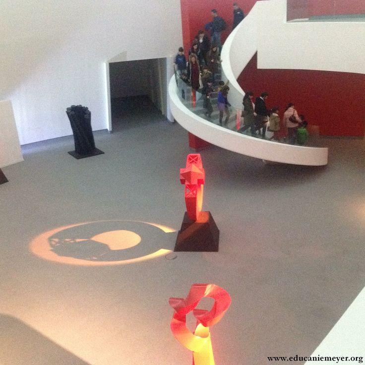 15.02.2014. Visita-taller familiar a la exposición de Sebastián: En la cúpula