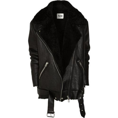 Acne Leather Jacket