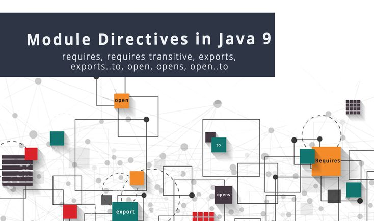 Know interesting facts about the Java 9 Module system.  Understand new directives introduced as a part of Modularity with examples.  Understand new restricted keywords. exports, module, open, opens, provides, requires, to, transitive, uses and with  http://www.codenuclear.com/module-directives-in-java-9/  #codeNuclear #Java9 #modularity #directives #BeUpgraded