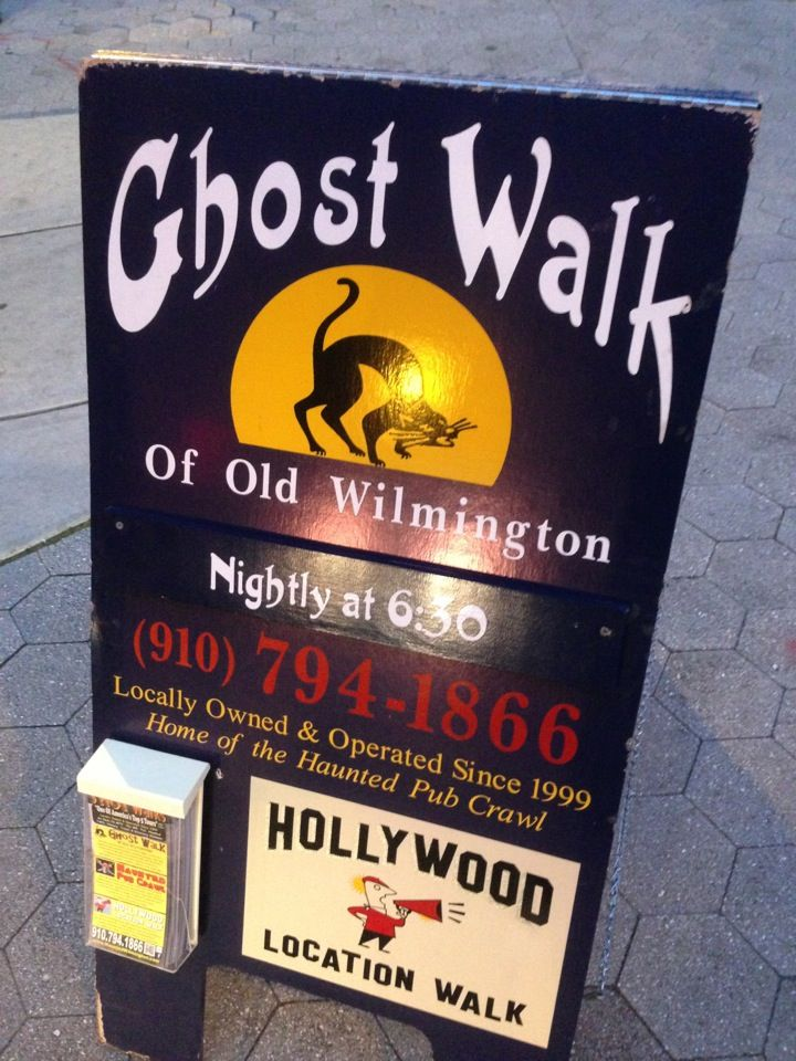 Wilmington Ghost walk is an interesting way to learn about the history of downtown Wilmington especially if you are a fan of ghost stories.