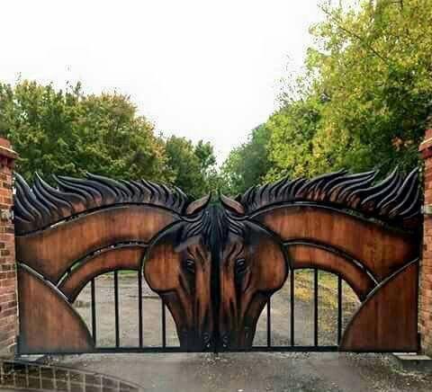 I love these gates