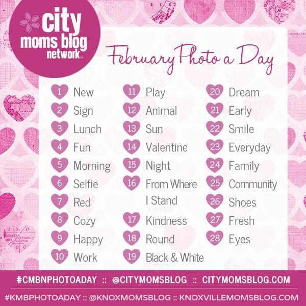 #KMBPHOTOADAY February Photo Challenge!