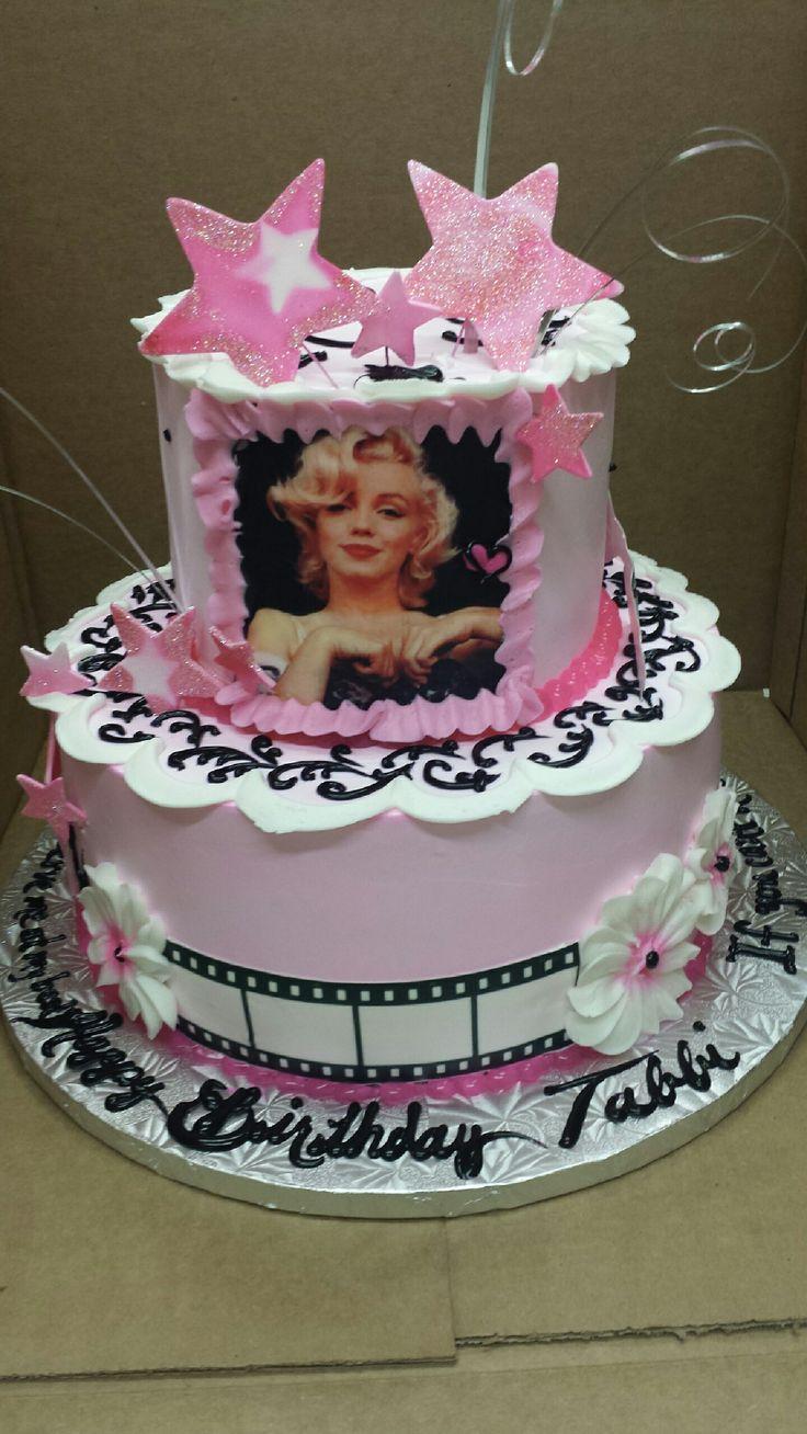 Calumet Bakery Marilyn Monroe Movie Star Cake Girls