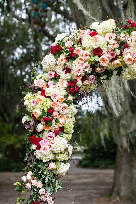 fall sculpture garden wedding at new orleans city park gallery