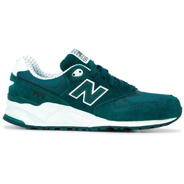 New Balance 999 Elite Sneakers (4.735 UYU) ❤ liked on Polyvore featuring shoes, sneakers, zapatillas, green, green suede shoes, suede sneakers, new balance footwear, suede shoes and new balance