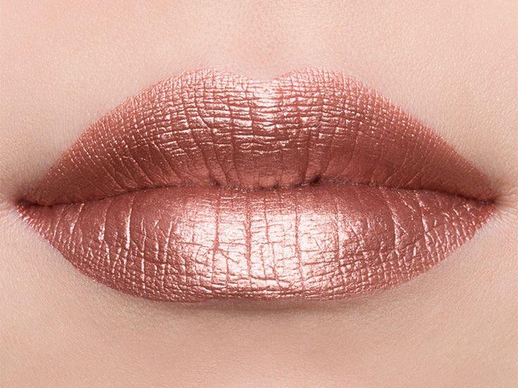 Jouer Cosmetics Long-Wear Lip Crème in Rose Gold