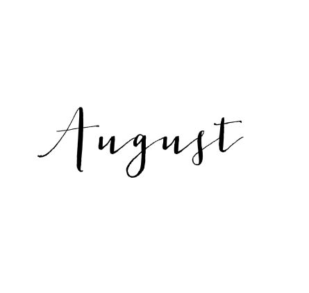 hello August ! 10 more DAYS until 10 YEARS with the love of my life' it's pretty crazy that I'm even typing this! I cannot wait to celebrate 10 years of love with you on 08.11 !