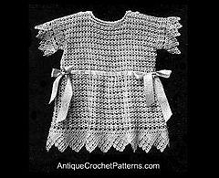 Ravelry: Crochet Baby Frock Pattern pattern by Vintage free