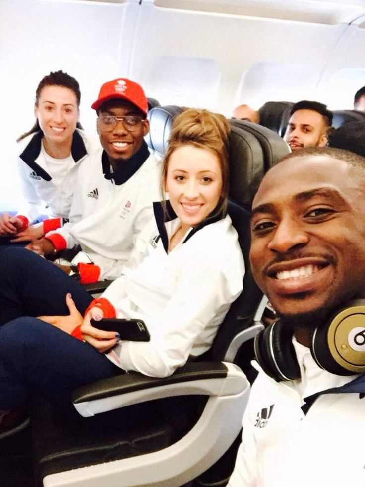 Taekwondo - Team GB are officially off! #RioBound ✈️🇬🇧