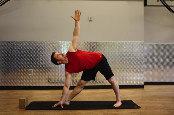 Yoga for Strength Athletes: Triangle and Side Angle Poses