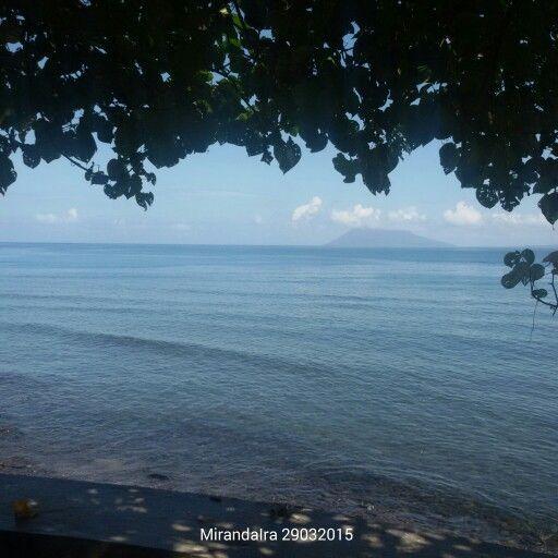 silent morning at Malalayang beach Manado #beautifulindonesia #lovetheblueofIndinesia