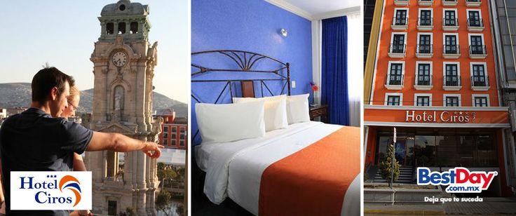 Vive un #BestDay en el Hotel Ciros en #Pachuca. Participa en #ViajerosPatrios #OjalaEstuvierasAqui