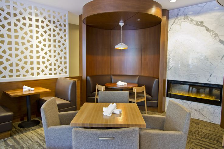 Want a little privacy without feeling secluded? Ask for one of our corner booths!