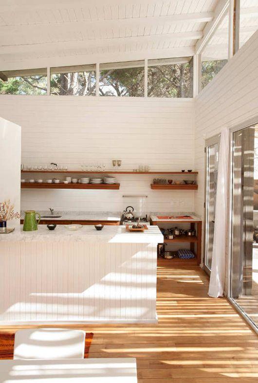 Une cuisine de rêve lumineuse et immense