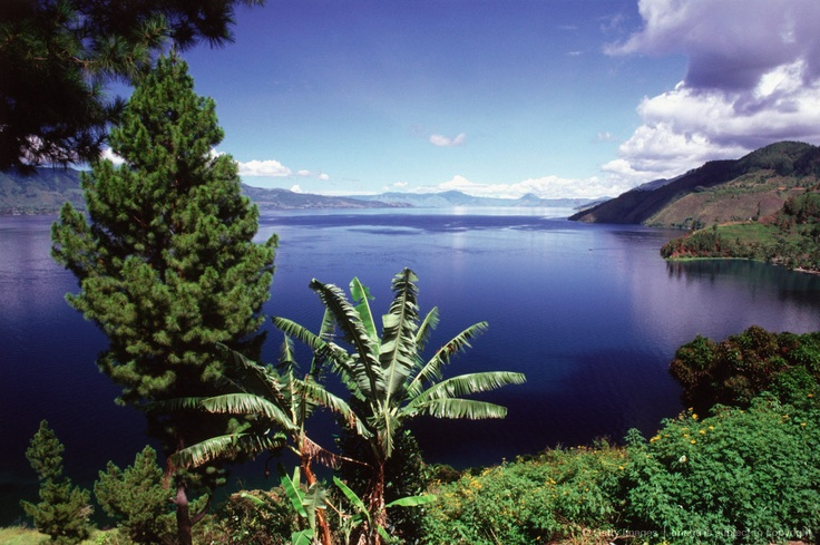 Indonesia, Sumatra, Lake Toba