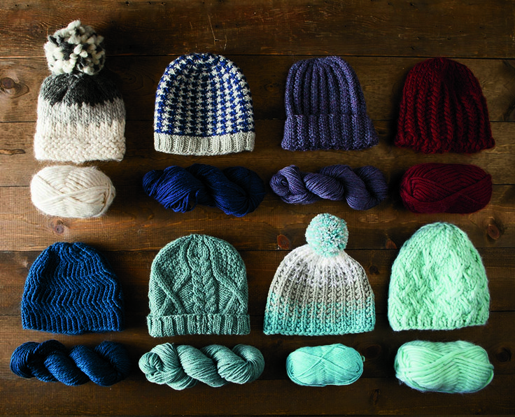Knit a warm hat in a flash with these patterns from the Knit Picks Quick & Cozy pattern collection! Download the knitting pattern and buy yarn at KnitPicks.com