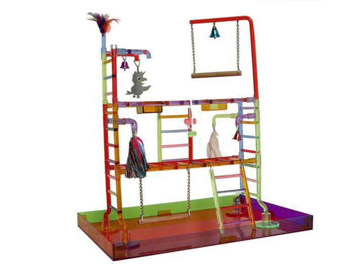 Parc amusement | King cages | KC 299 | La Voliere Boutique pour perroquet