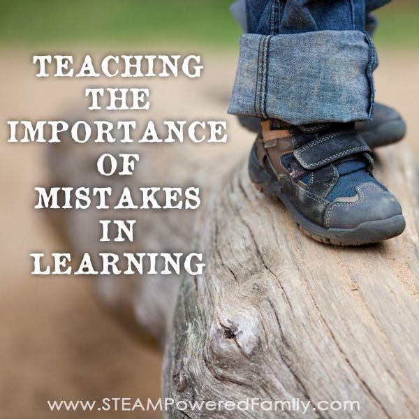 Mistakes in learning are so important. Here is what I told my son that finally…