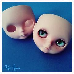 Former Self #blythe #custom #RBL #doll #takara #eyes #faceplate