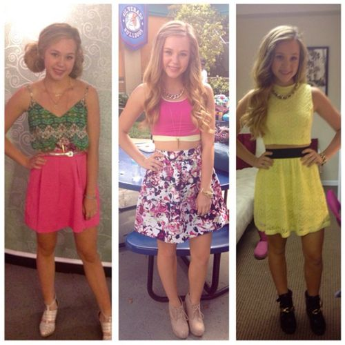 Brec said that these are her favorite outfits from Bella and the Bulldogs!