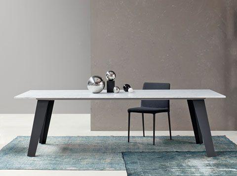 Bonaldo Welded Marble Dining Table