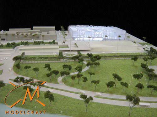 1:250 Architectural Model by Modelcraft (NSW) Pty Ltd