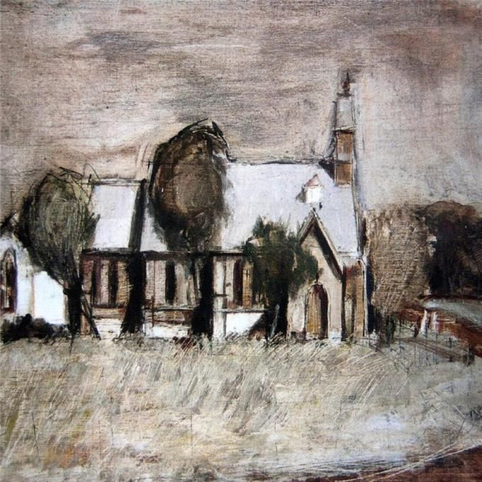The Church - Brett Whiteley