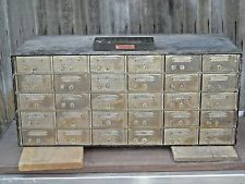 Antique Vintage Bank Safe Deposit Box Set Bank Vault