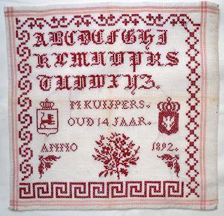 Quilts and Siggies: letterlappen e.d.