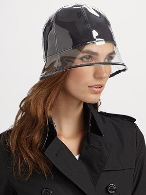 Lika Plastic Rain Hat   Let it Rain   Pinterest