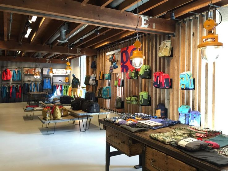 Patagonia retail design interior design styling for Interieur styling amsterdam