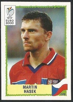 Panini 2000 Euro #304 - CZECH REPUBLIC - MARTIN HASEK